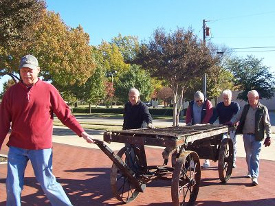 volunteer opportunities, allen heritage guild, allen heritage village, heritage museum, train depot, historic preservation, allen tx