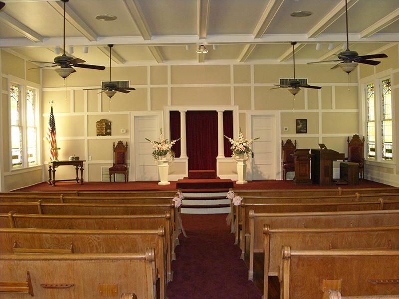 allen christian church, historic church, heritage village, wedding venue, event venue, allen tx