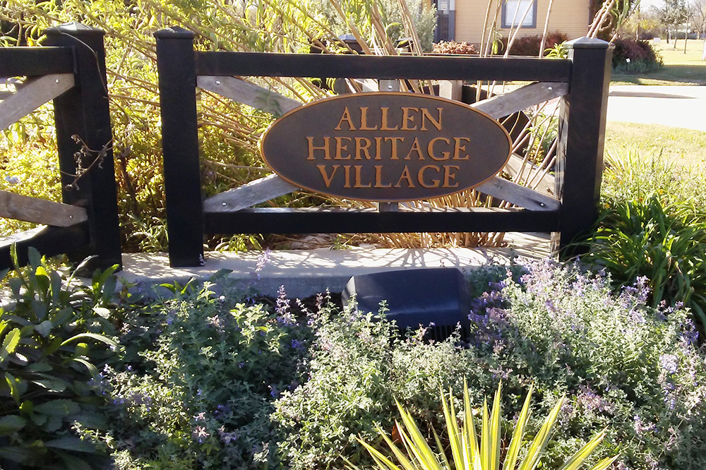 allen heritage village, open house, historic building tours, allen tx