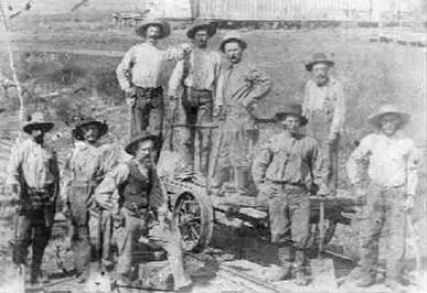 allen tx history, stone dam crew