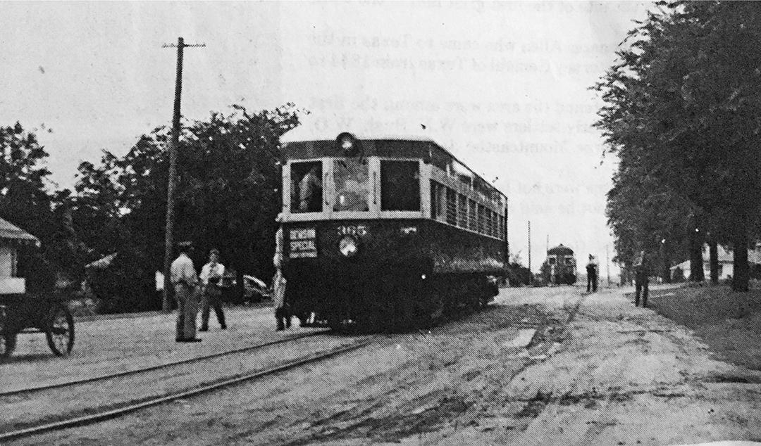 interurban train car, allen tx