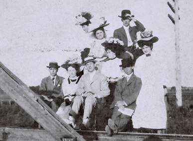 allen tx history, train tracks, houston and texas central railroad
