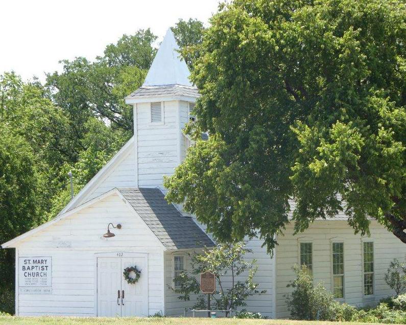 st. mary church, historic church, heritage village, wedding venue, event venue, allen tx