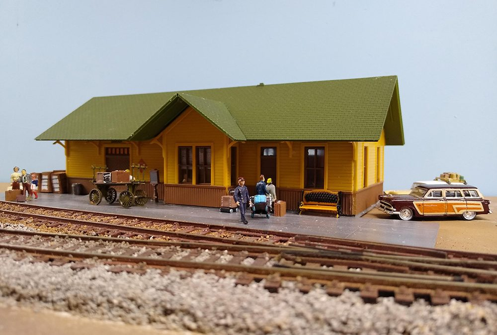 Allen Texas, a HO Gauge Model Railroad