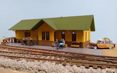 Allen Texas, a HO Gauge Model Railroad