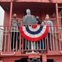 sam bass, railroad history day, scavenger hunt